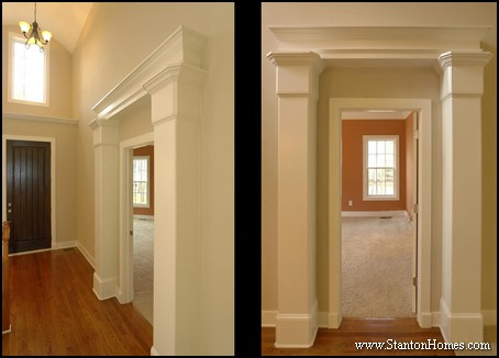 Master Bedroom Entrance Designs | Raleigh Custom Home Builders