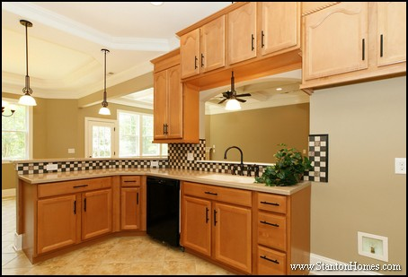 Why should you eliminate the kitchen island raleigh new homes for Open kitchen no island