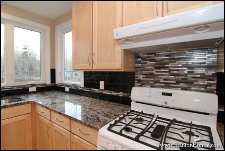 tile backsplash behind stove: images about backsplash on pinterest