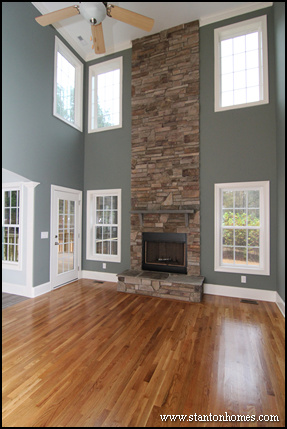 2014 custom home design debunking myths about two story living rooms Rustic style attic design a corner full of passion
