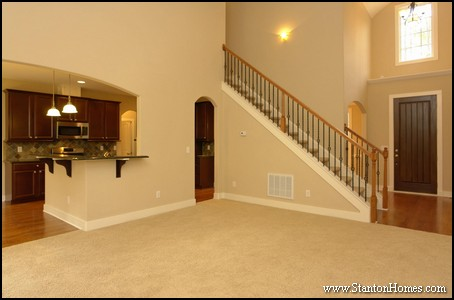 2014 custom home design debunking myths about two story for 2 story foyer conversion