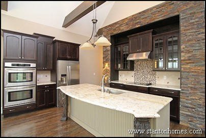 Dark Cabinets with Light Granite - Best Color Combinations (