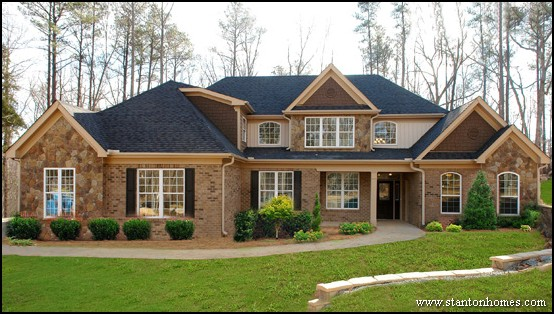 brick home photos brick home style ideas in raleigh nc