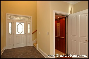 Nc wheelchair accessible homes hallway and doorway for Wheelchair accessible house plans with elevator