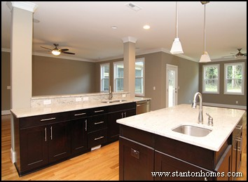 How big should my kitchen island be? | Kitchen island design