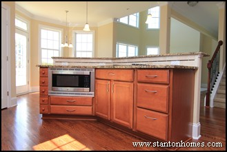 Kitchen design trends where should the microwave go for Kitchen designs microwave