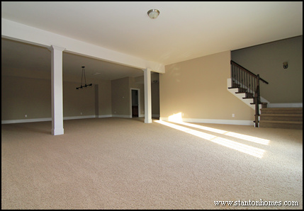 Man cave ideas raleigh floor plans with walkout basement for House plans with man cave