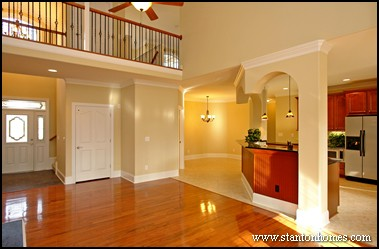 Hardwood floor transitions making open floor plans work for Hardwood floor plans