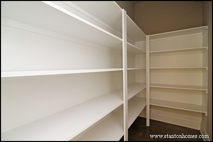 Most popular kitchen plans costco style walk in pantries for How to build a walk in pantry