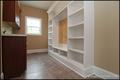 2013 new home design ideas | Mudrooms with drop zones