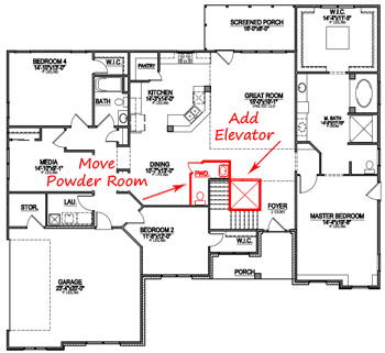 How to modify a floor plan - Custom floor plan how to