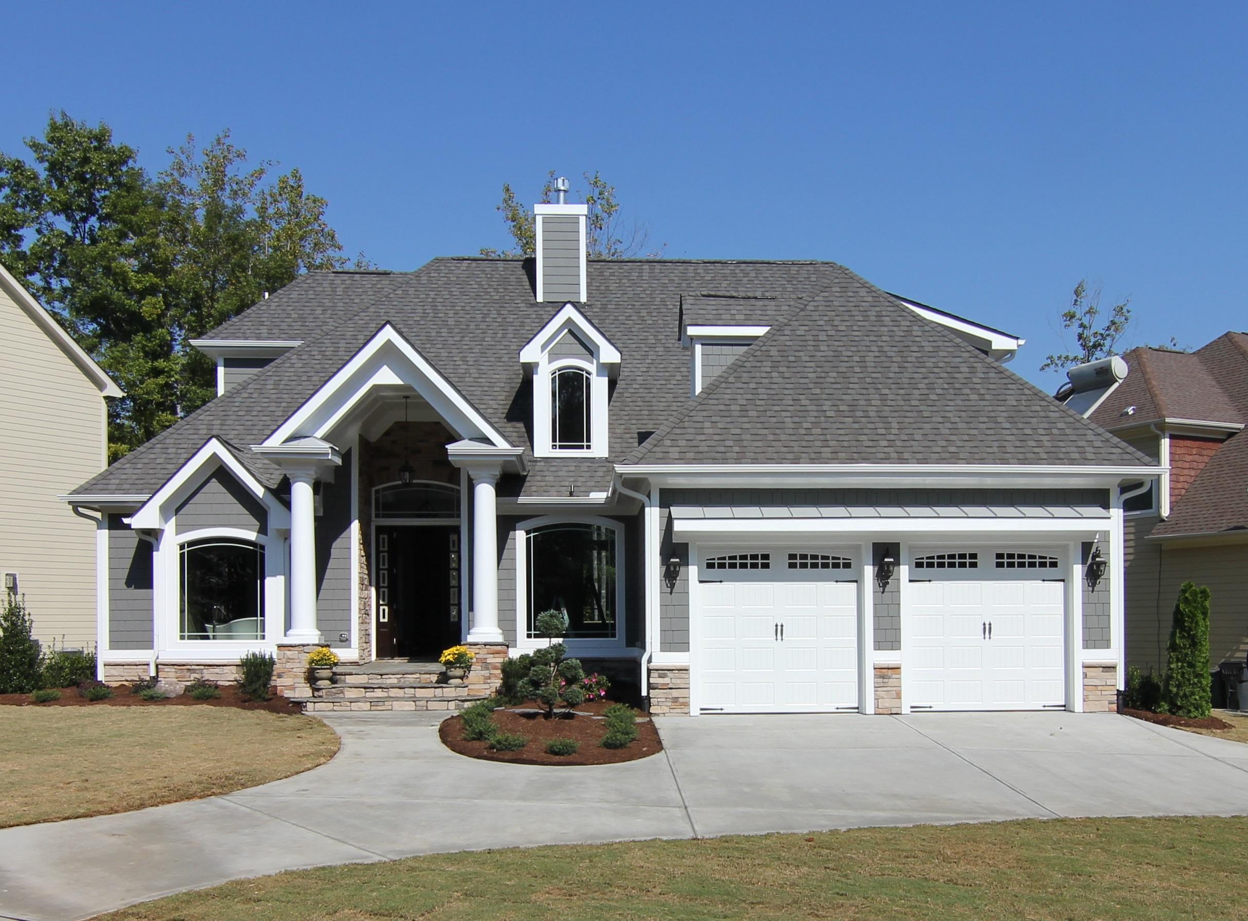 Original urban craftsman home design for Classic house colors
