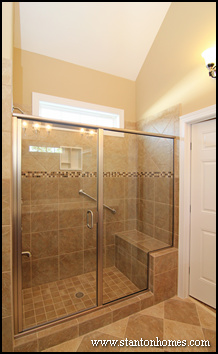 Why are more homebuyers taking the tub out of the master bath for Master bath designs without tub