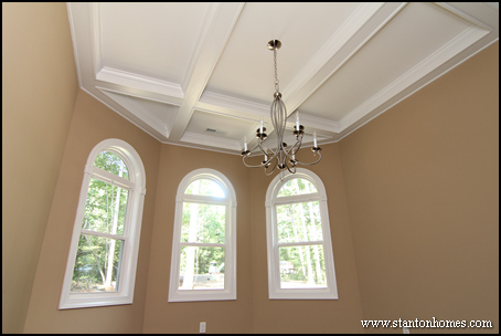 Coffered Ceiling Photos | Raleigh Custom Home Coffered Ceiling Ideas
