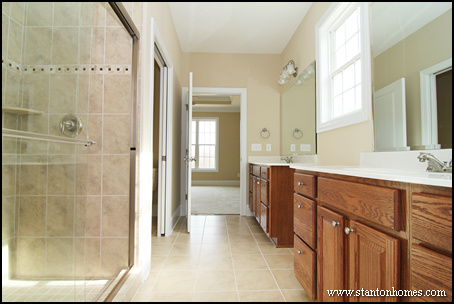 Why are more homebuyers taking the tub out of the master bath for Bathroom designs without tub