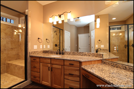 Master bath designs without a tub focus on master showers for Bathroom designs without tub