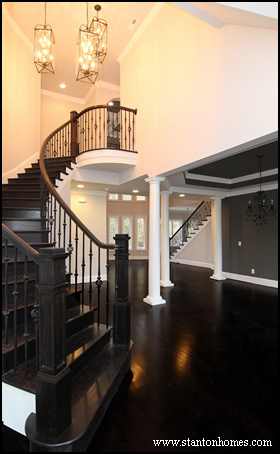 Staircase design curved staircase