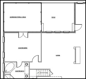 Top eight outdoor living floor plans outdoor living ideas for Detached mother in law suite home plans