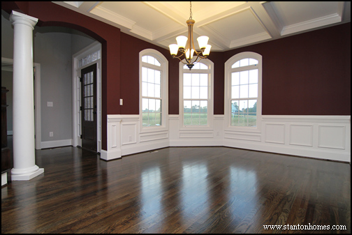 Formal Dining Room Red