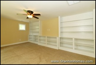 Storage Ideas for 2014 New Homes | Built In Bookcases