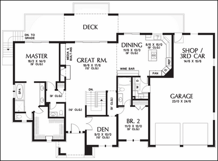 Small House Plans With Wrap Around Porches as well Small House Plans further One Story Floor Plans With Basements also 52143308157717243 additionally 1135. on one bedroom open floor plans