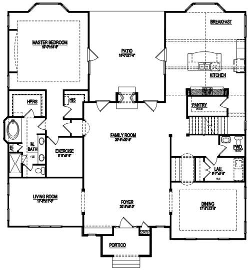 Page 5 custom home building and design blog home for Country style floor plans