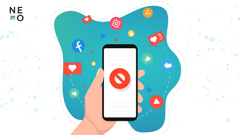 NEO360 Blog 5 Ways to NOT Use Social Media (and What to Do If You Did)