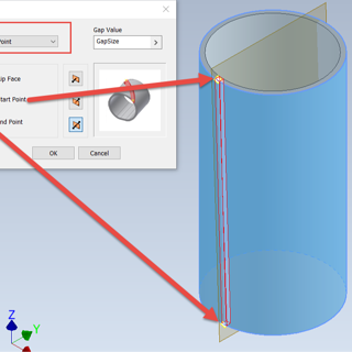 Inventor Tips & Tricks – How to Create a Sheet Metal Cylinder with an Angle Cut-2-1