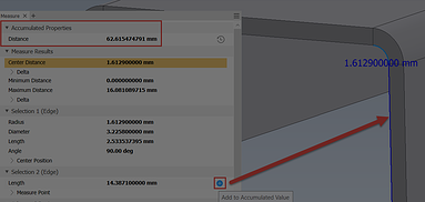 Inventor Tips & Tricks – How to Obtain an Accumulated Measurement