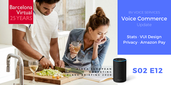 VOICE COMMERCE UPDATE · Alexa European Marketing Flashbriefing S02 E12