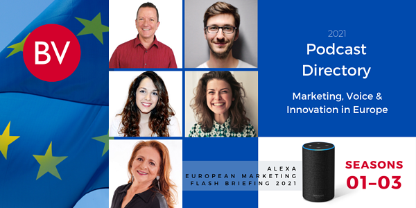PODCAST DIRECTORY | Alexa European Marketing Flash Briefing | SEASONS 01–03
