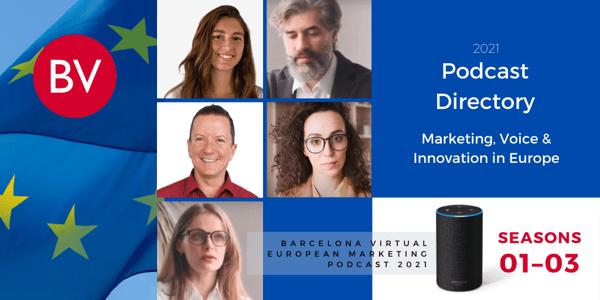 PODCAST DIRECTORY | BV European Marketing Podcast | SEASONS 01–03