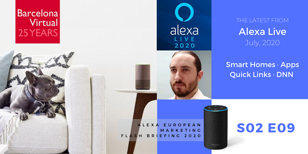ALEXA LIVE 2020 WRAP-UP | Alexa European Marketing Flash Briefing · S02 E09