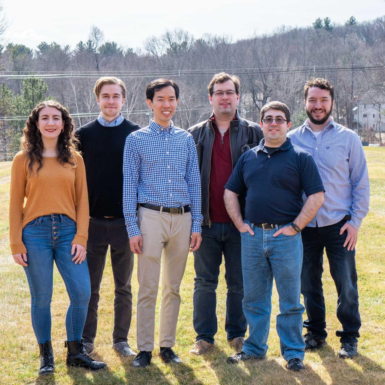6 Andplus team leaders standing shoulder to shoulder outsideDSC01759 -1