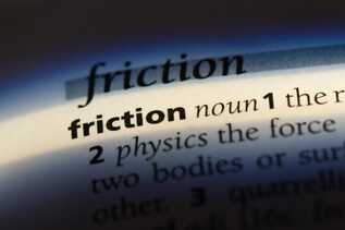 Friction  definition on paper