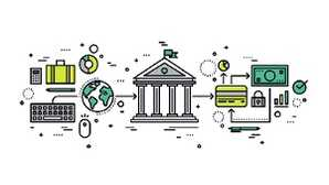 check the post:How Tech Transformed Modern Banking for a description of the image
