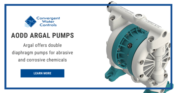 Argal DDE Air Operated Diaphragm Pumps (AODDs)
