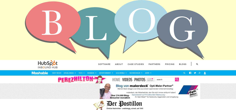 Erfolgreiches Blogging: 14 starke Blog-Beispiele –Teil 1