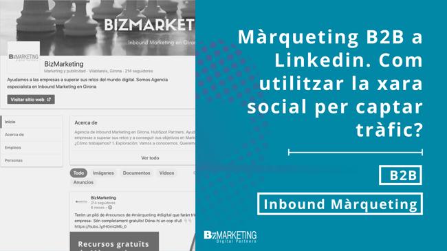 Màrqueting B2B a Linkedin: Com utilitzar la xarxa social per captar tràfic?