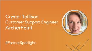 Partner Spotlight: Meet Crystal Tollison from ArcherPoint