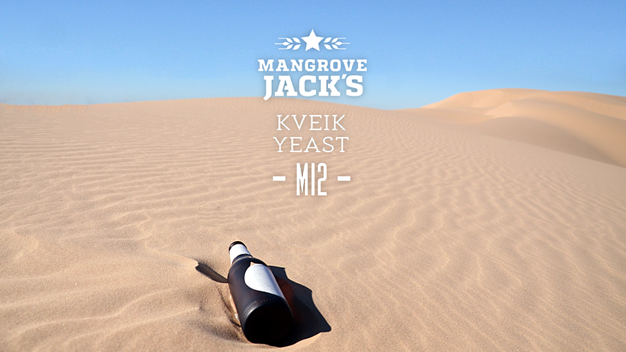 Mangrove Jack's Kveik Yeast in the desert