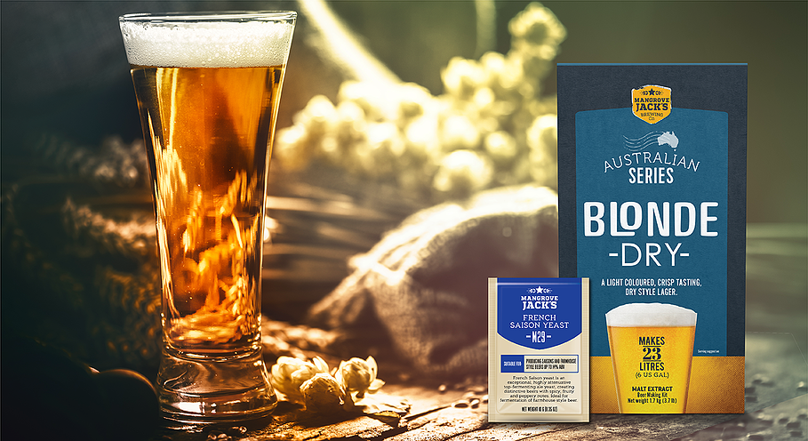 Mangrove Jack's Brewer's Blonde Dry with M29 Yeast