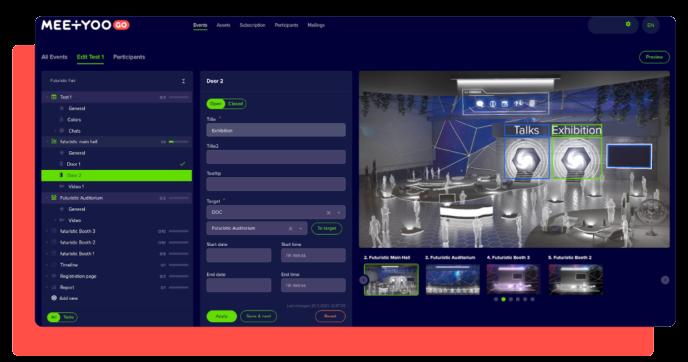 3D Virtual Event Software