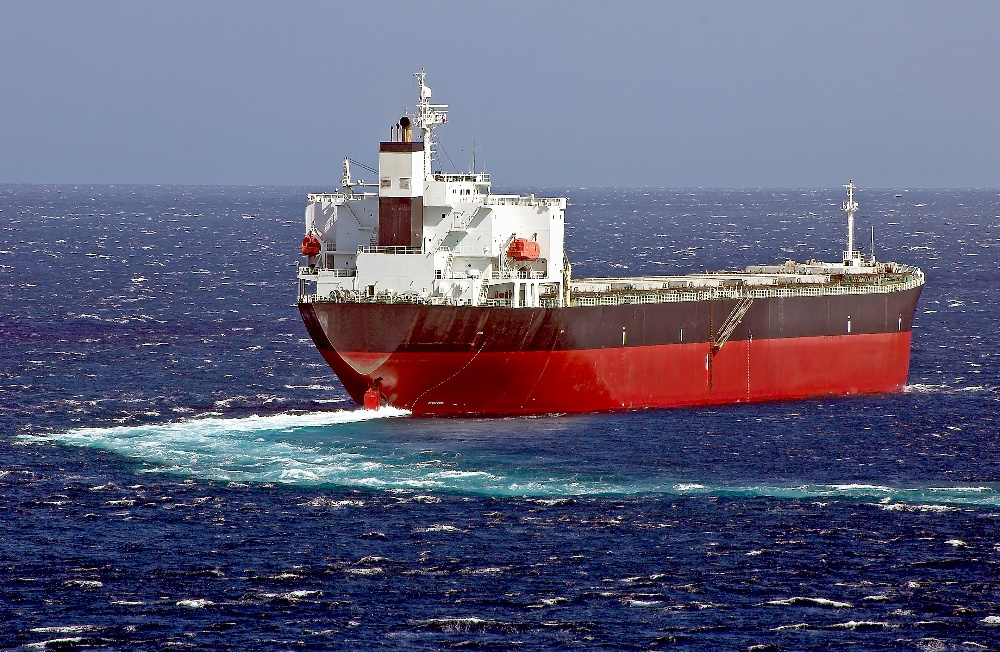 Tanker turning
