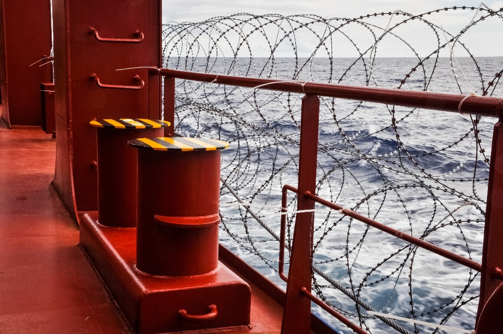 Ship Razor Wire  Ship Protection Measures