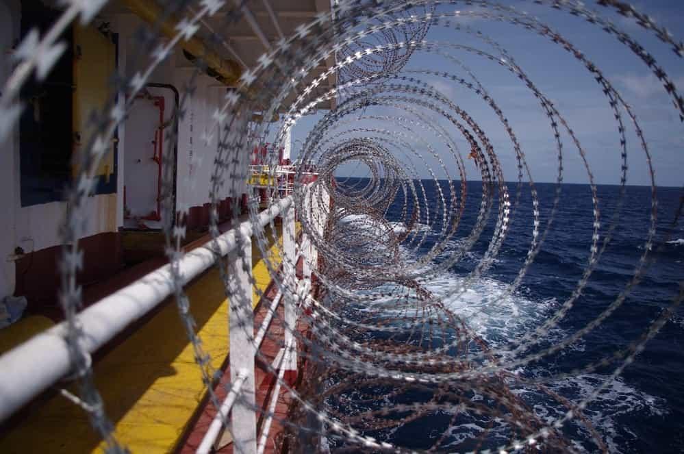 Ship Razor Wire