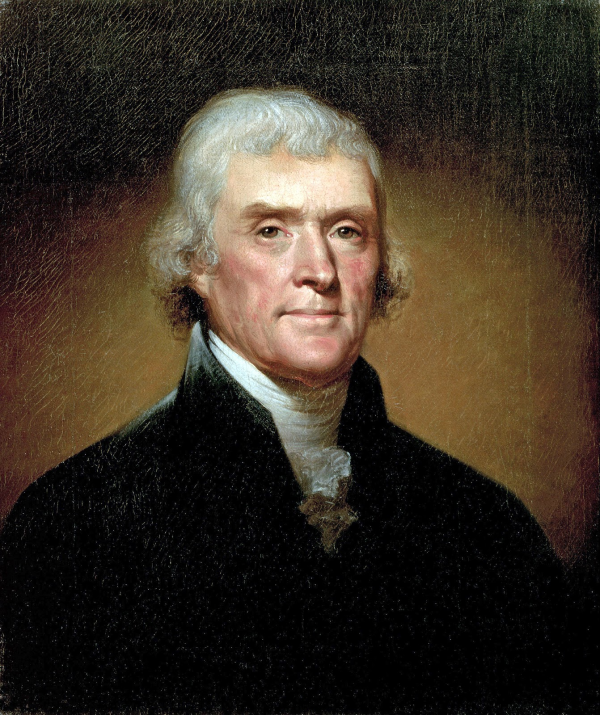 Thomas Jefferson by Rembrandt Peale 1800 resized 600