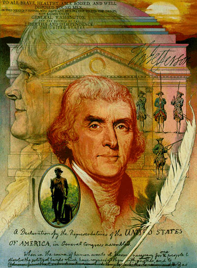 Jefferson collage