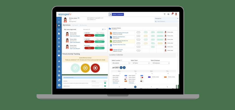 Appogee HR Essentials screenshot feature