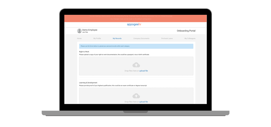 Collect employee records